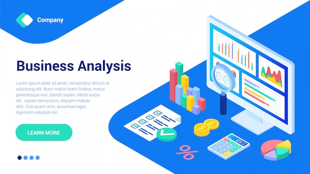 Plantilla web de datos empresariales