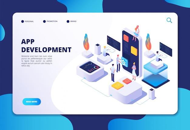 Plantilla web de desarrollo de aplicaciones
