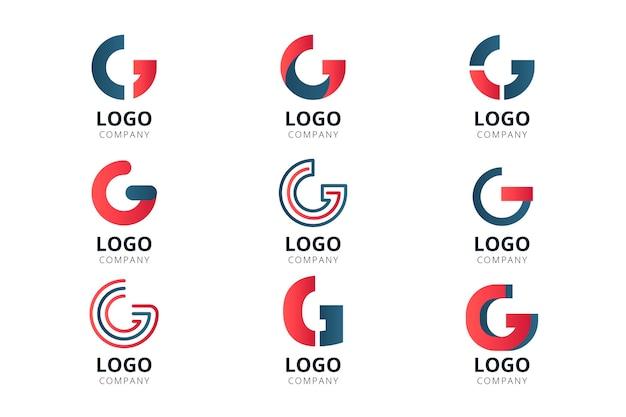 Plantillas creativas de logotipo letra g