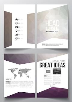 Plantillas de negocios para folleto