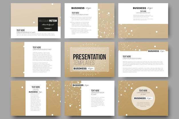 Plantillas para diapositivas de presentación
