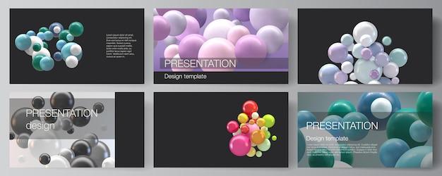 Plantillas de diseño de diapositivas de presentación, plantilla multipropósito para presentación.