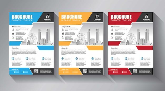 Plantillas de folletos comerciales