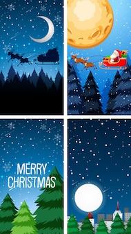 Plantillas de fondo con tema navideño