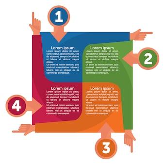 Plantillas de infografía para negocios