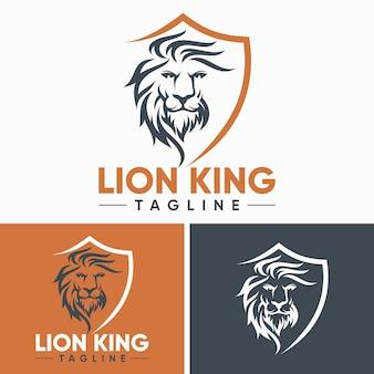 Plantillas de logo de creative lion