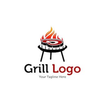 Plantillas de logo hot grill