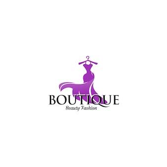Plantillas de logotipo de boutique de lujo