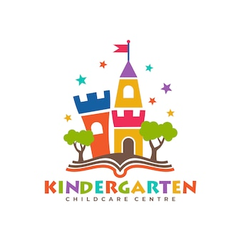 Plantillas de logotipo de jardín de infantes