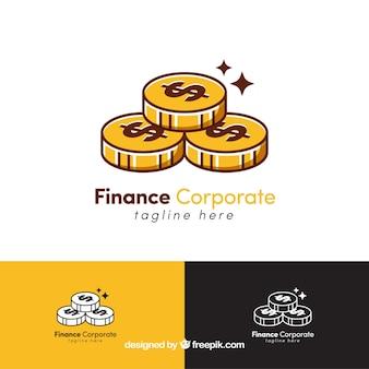 Plantillas de logotipos de dinero