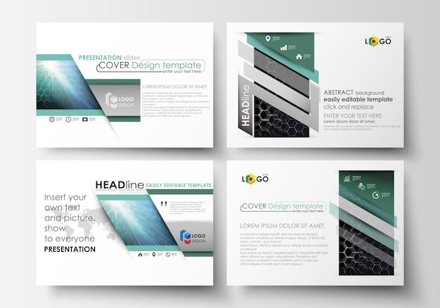 Plantillas de negocio para diapositivas de presentación.