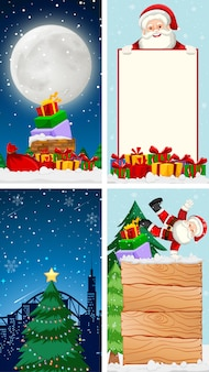 Plantillas con tema de navidad