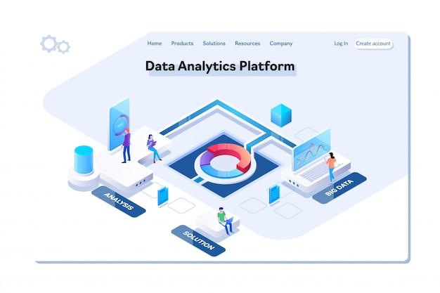 Plataforma de análisis de datos.