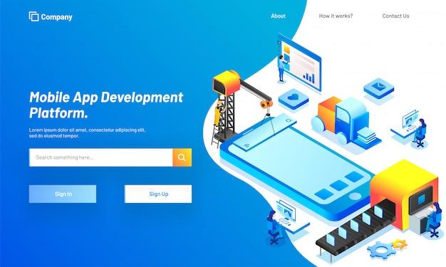 Plataforma de desarrollo de aplicaciones móviles