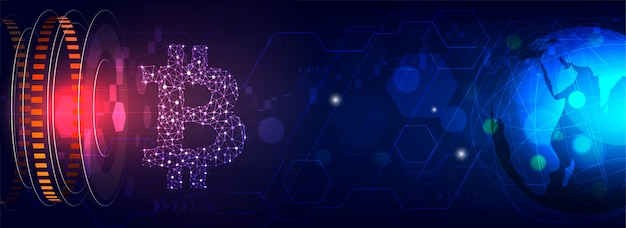 Plataforma de intercambio de criptomonedas futurista.