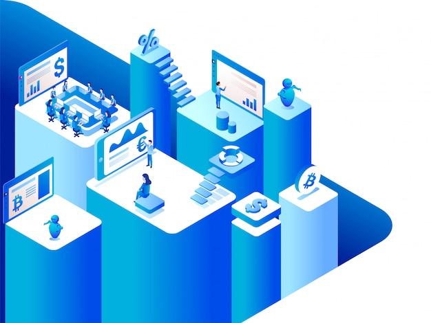 Plataforma de intercambio de dinero virtual a real /