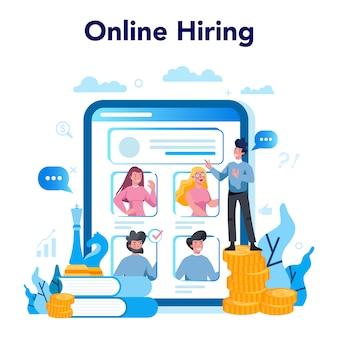 Plataforma o servicio online de alta dirección empresarial