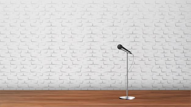 Plataforma para la plantilla de stand up comedy show