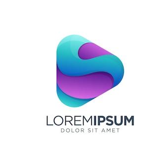 Play diseño de logo