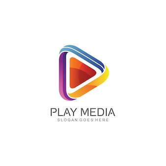 Play icon logo