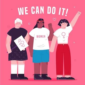 Podemos hacerlo 8 de marzo día de la mujer