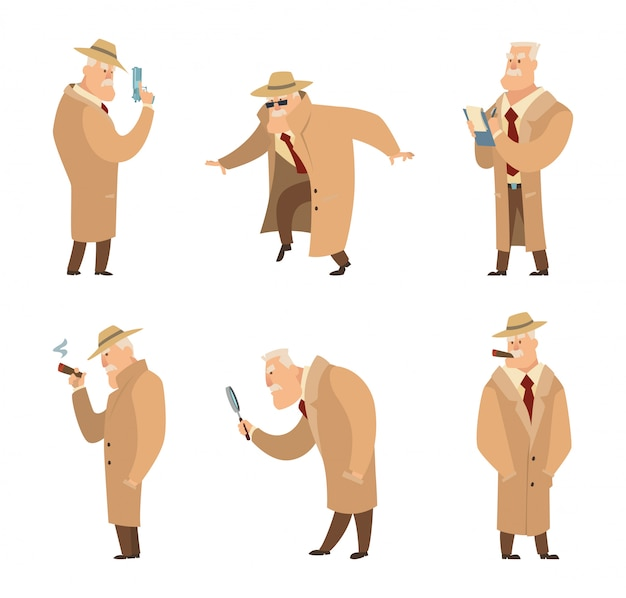 Policía o detective de búsqueda criminal.