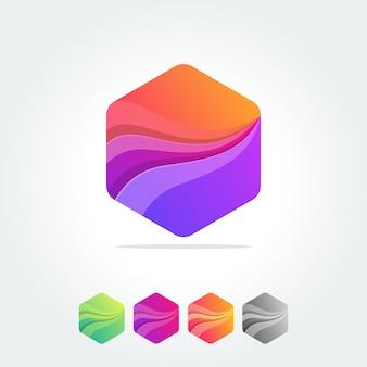 Polígono elemento abstracto diseña composiciones geométricas.