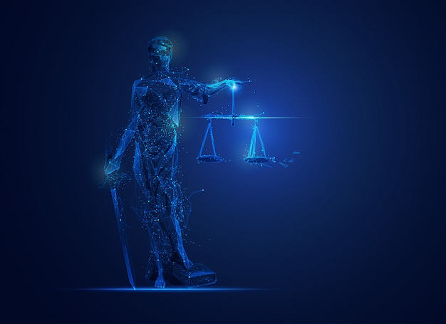 Polígono themis o diosa de la justicia