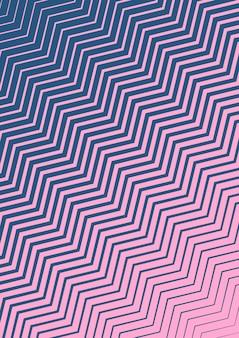 Portada abstracta. plantilla geométrica futurista para pancarta, póster, volante, folleto. diseño minimalista de moda con degradados de semitonos. ilustración abstracta eps 10. cubierta de colores minimalista.