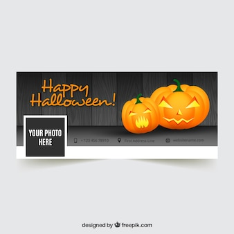Portada de facebook de feliz halloween