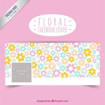 Portada de facebook floral linda