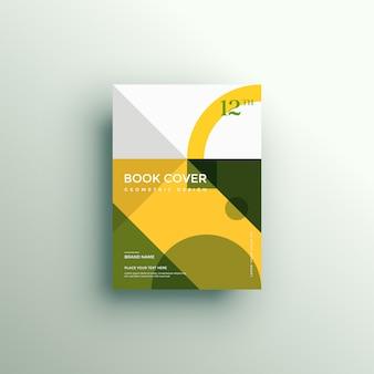Portada de libro con formas geométricas