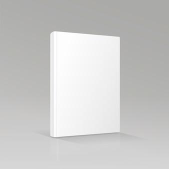 Portada de libro vacía en blanco