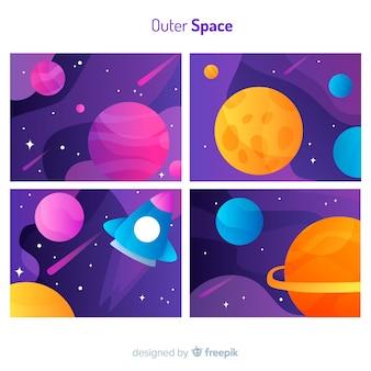 Portadas del espacio exterior
