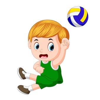 Posiciones del jugador de voleibol