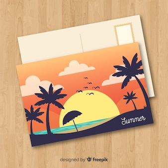 Postal de vacaciones
