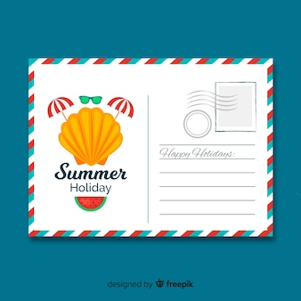 Postal de verano