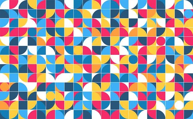 Póster de arte de estilo minimalista minimalista geométrico diseño de patrón abstracto en estilo escandinavo