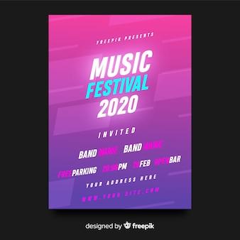 Póster festival música