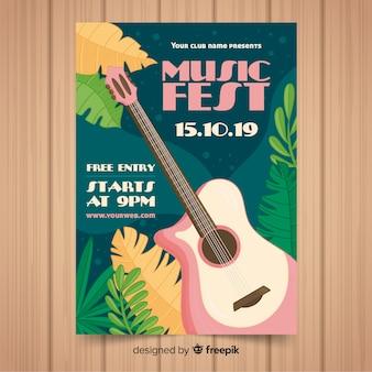 Poster de festival de música