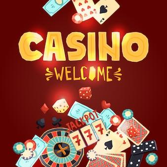 Póster de juego de casino
