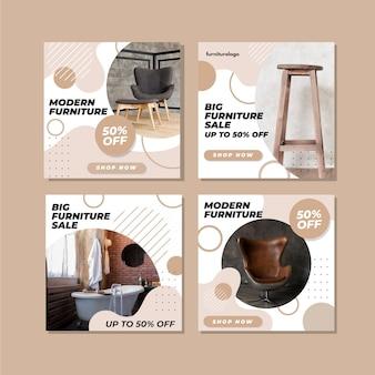 Postes ig de venta de muebles con imagen