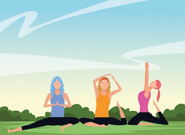 Posturas de yoga para mujeres