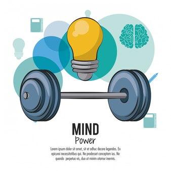 Potencia mental y plantilla cerebral