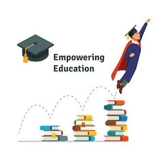 Potenciar la educación
