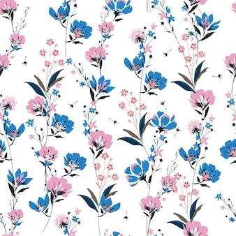 Prado de moda patrón floral