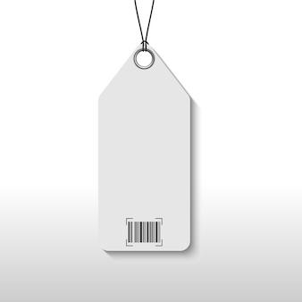Precio de etiqueta con código de barras