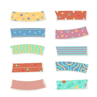 Preciosa colección de cintas washi