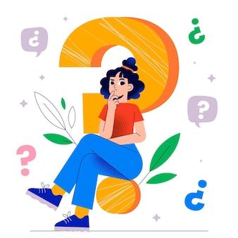 Preguntando el concepto de pregunta