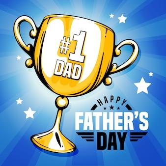 Premio copa de oro papá